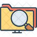 Data Search Interface Search Information Icon