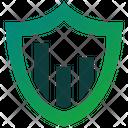 Data Secure Analytics Icon