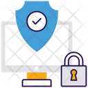 Data Security Antivirus System Virus Protection Icon