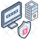 Data Security Database Security Data Protection Icon