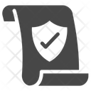 Data Security Data Privacy Gdpr Document Icon