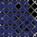 Data Security Data Storage Security Database Security Icon