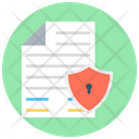 Data Security Important Files Data Encryption Icon