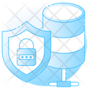 System Lock Data Protection System Security Icon