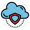 Data Security Cloud Icon
