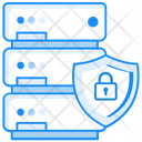 Data Security Secure Server Server Protection Icon