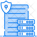 Data Security Server Security Safe Datacenter Icon