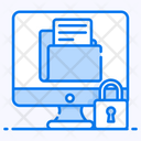 Data Security Protected Folder Data Encryption Icon
