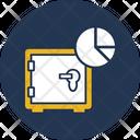 Data Security Data Warehouse Locker Icon