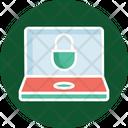 Data Security Laptop Lock Laptop Security Icon
