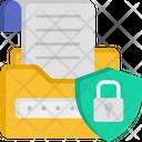 Data Security File Lock File Security Icon