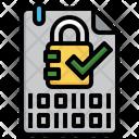 Data Security Encrypted Encryption Icon