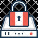 Data Security Padlock Icon