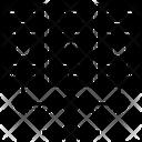 Data Server Data Center Data Network Icon