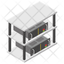 Data Center Data Server Plant Room Icon
