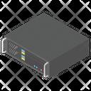 Data Center Data Server Plant Room Icon