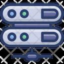 Data Server Data Racks Data Center Icon
