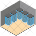 Data Server Workstation Datacenter Icon