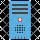 Data Server Database Server Digital Technology Icon