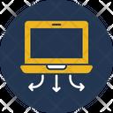 Data Server Data Share Data Transfer Icon