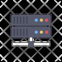 Data Base Server Networking Icon