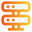Data Server Data Communication Data Network Icon