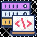 Data Server Coding Icon