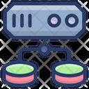 Data Server Network Data Server Structure Sql Icon