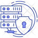 Data Protection Data Server Protection Server Lock Icon
