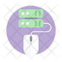 Data Server Database Server Data Communication Icon
