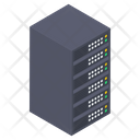 Data Server Rack Icon