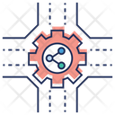 Data Sharing Data Transfer Data Exchanging Icon