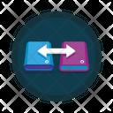 Data Sharing Data Transfer Data Exchange Icon