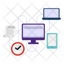 Connection Data Network Icon