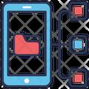 Data Sharing Big Icon