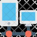 Data Sharing Network Icon