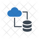 Datasharing Filetransfer Cloud Icon