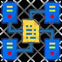 Data Sharing Internet Digital Icon
