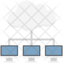Data Sharing Sharing Info Data Exchanging Icon