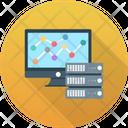 Data Sharing Hosting Server Icon