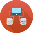 Data Sharing Internet Connection Networking Icon