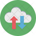 Data Sharing Data Exchanging Arrows Icon
