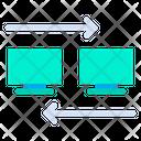 Data Transfer Computers Data Icon