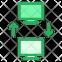 Data Sharing Icon