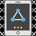 Data Sharing Data Exchange Digital Transformation Icon