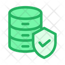 Protected Database Protected Data Secure Data Icon
