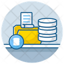 Data Source Data Folder Data Storage Icon