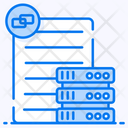 Data Source Raw Data Dataset Icon