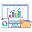 Statistical Analysis Data Sources Analytics Icon