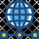Data Storage Globe Icon